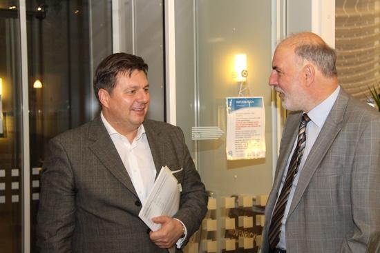 Sen. Andreas Geisel und Matthias Böttcher